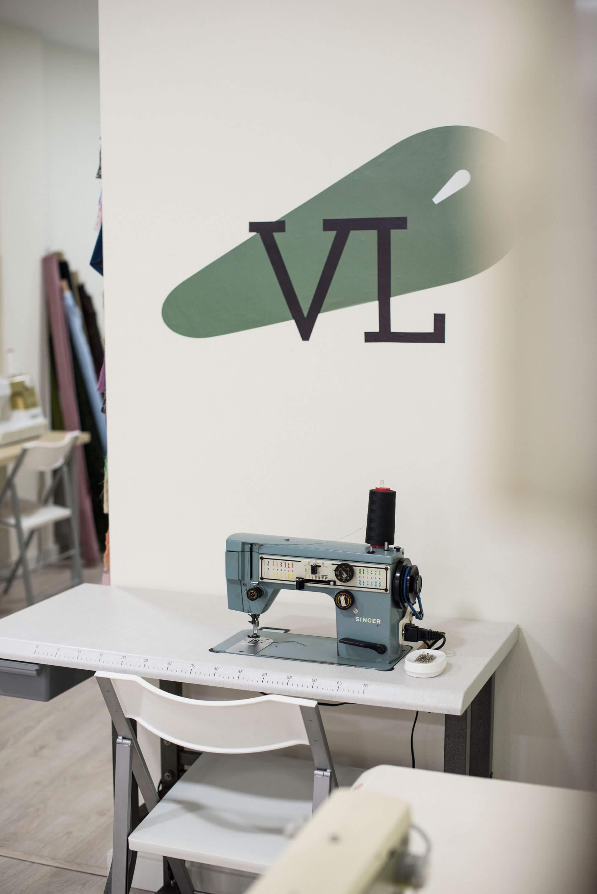 Escuela de patronaje y confección en Zaragoza Victoria López